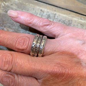 Lois hill stack rings